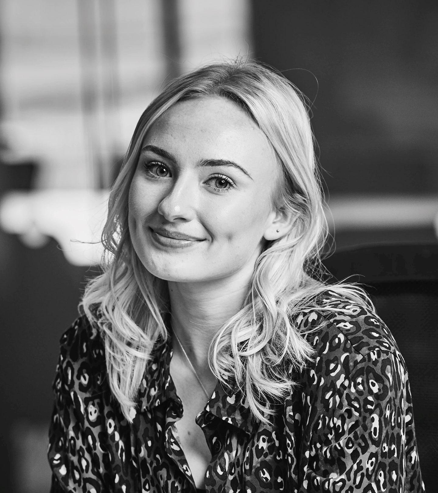 Ella Pumford, content manager at St. Modwen Homes